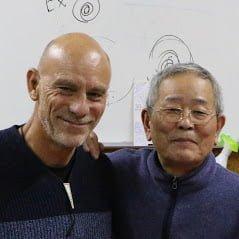 Alan Jansson with Ikeda Sensei