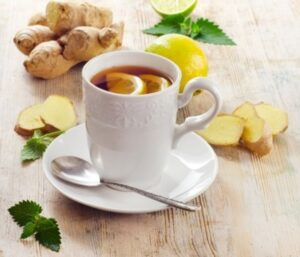 Ginger can help colds