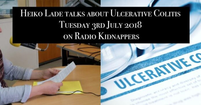 Listen to Heiko Lade talk about Ulcerative Colitis on Radio Kidnappers