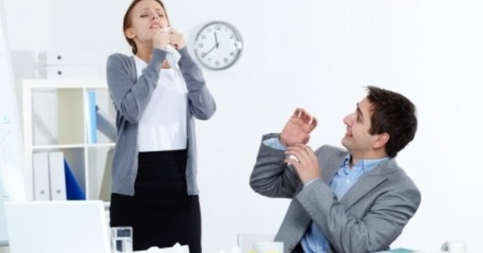 A sneeze can trigger stress incontinence