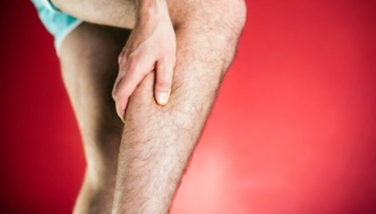 Acupuncture can treat calf sprain