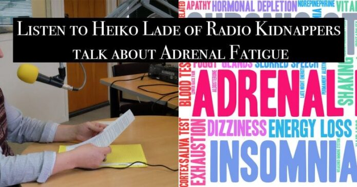 Ken Morrison and Heiko Lade of Radio Kidnappers talk about acupuncture and Chinese herbs for adrenal fatigue