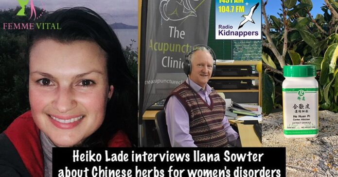 Heiko-Lade-and-Ilana-Sowter-discuss-Chinese-Herbs-and-women's-complaints