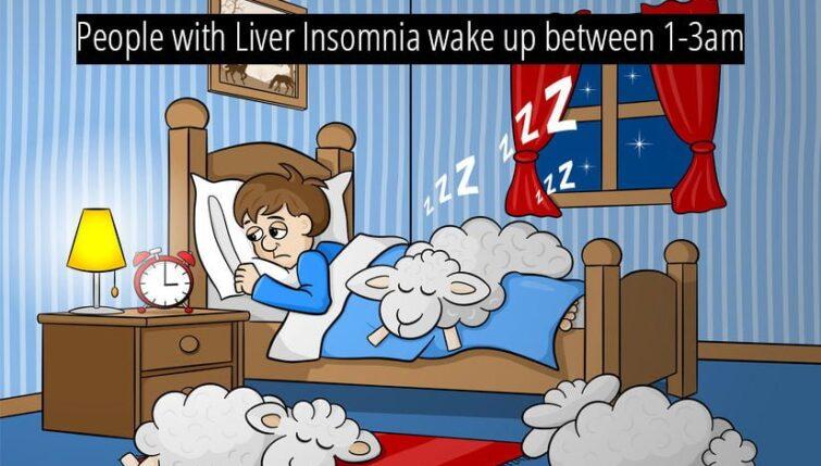 Liver insomnia