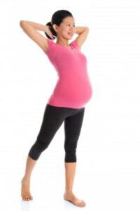 Pregnant Asian Woman