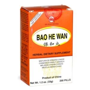 Bao He Wan Pills often used to counteract the over eating at festive times