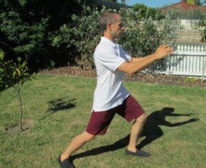 Corey Waterreus teaches Tai Chi in Napier