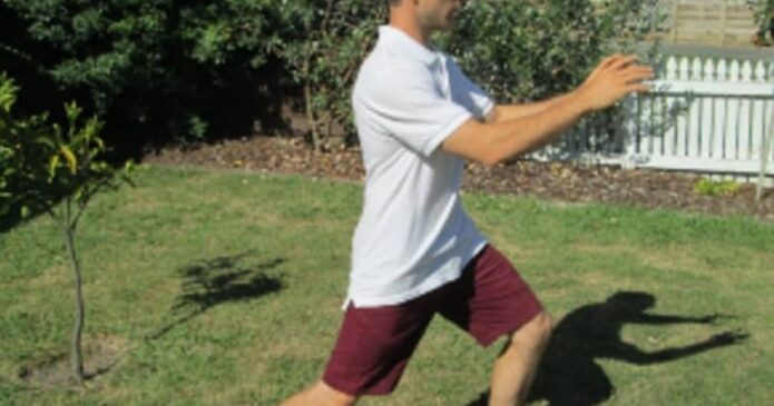 Corey Waterreus teaches Tai Chi in Napier