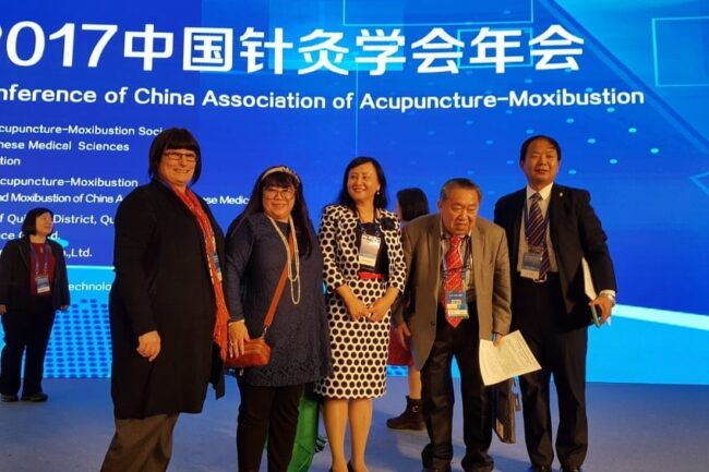 Angie Harding, President of Acupuncture NZ attending WFAS Conference 2017